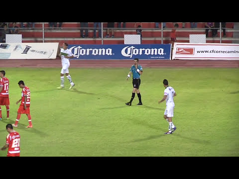 Correcaminos vs Zacatepec  (1-1)