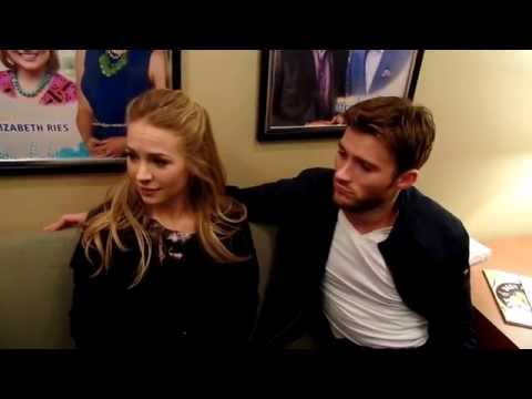 TCL Intern Sarah chats with Scott Eastwood and Britt Robertson