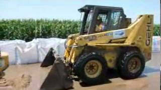 Big Bags to fight flooding along the Missouri River