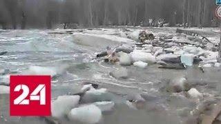 Паводок в Алтайском крае - Россия 24