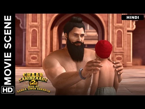 A Cruel End For Banda Singh Bahadur And His Son | Chaar Sahibzaade 2 Hindi Movie | Movie Scene