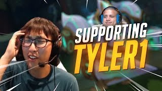 Download Lagu Doublelift - SUPPORTING TYLER1 Gratis STAFABAND