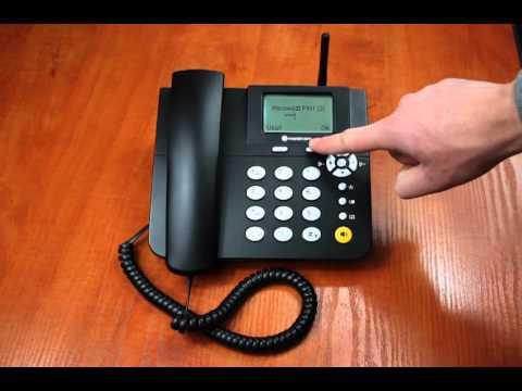 Mobicom FWP160G Włączanie telefonu z kodem PIN