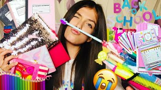 Back To School Supplies Haul 📚💛✏️Andreea Bostanica