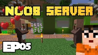 A Friend for Mortimer | Noob Server Multiplayer Minecraft with Pikanjo Episode 05