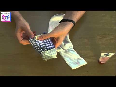 Vagina selber bauen - Socken Handschuh Geschirrtuch
