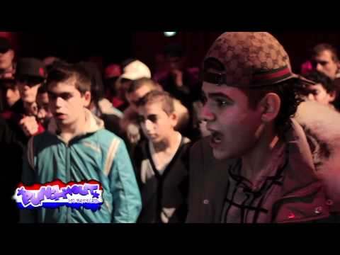 Jason Bourne VS Lijpe Mocro RODE KAART BATTLE Officiele PunchOutBattles