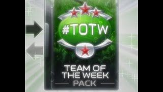 Madden 15 Mobile Ultimate Team -: TEAM OF THE WEEK SET OPENING :-
