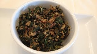 Veg Recipes - Spinach Coconut Curry  - Spinach Recipe - Indian