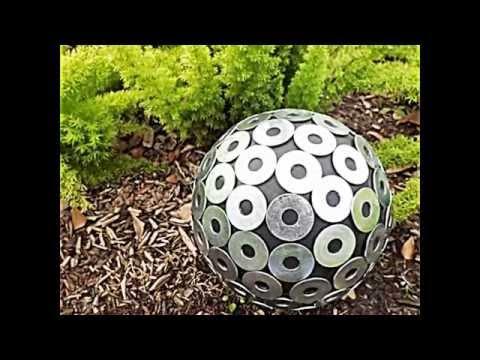 20 Sommerliche Garten Deko Ideen Mit Bowlingkuggeln Zum Selbermachen