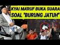 """MA'RUF AMIN BUKA SUARA SOAL """"BURUNG NYUN6SEP"""" DI KAMPANYE DAMAI PEMILU 2019 KPU;CUMA KAGET TERBANG"""