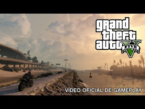 Grand Theft Auto V: Vídeo oficial de gameplay