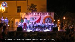 CAGFEN COLLEGE FOLKDANCE GROUP - TURCHIA