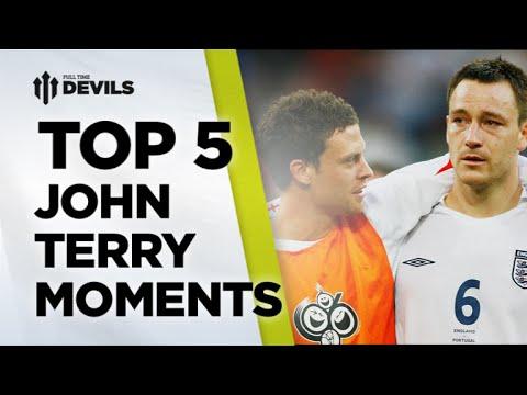 Top 5 John Terry Moments | Manchester United Vs Chelsea | FullTimeDEVILS