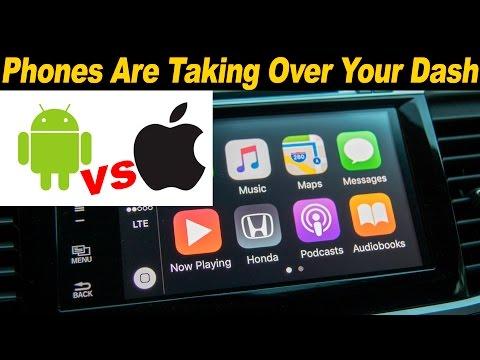 Android Auto vs Apple CarPlay - 2016 Honda Accord & 2016 Kia Optima