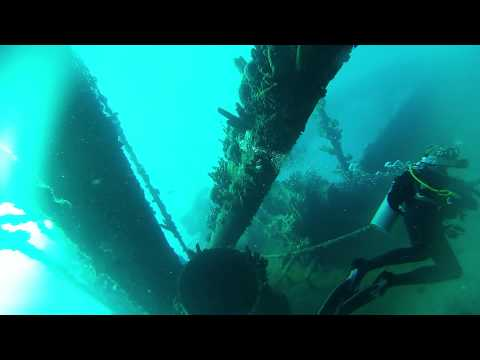 Antilla Wreck Dive Aruba Part 1 GoPro Hero3 Silver