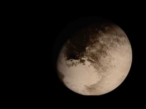 Flying Past Pluto