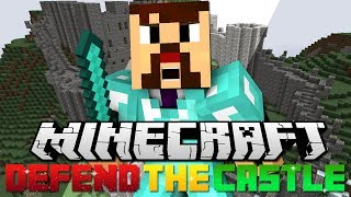 Minecraft: Defend The Castle - 7 Defenders Vs 100 Attackers