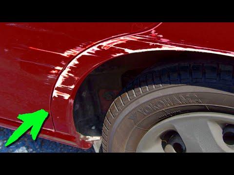 Царапины на автомобиле - убираем с помощью Wd - 40