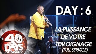 Pasteur Gregory Toussaint | 40-DAY FAST - DAY 6