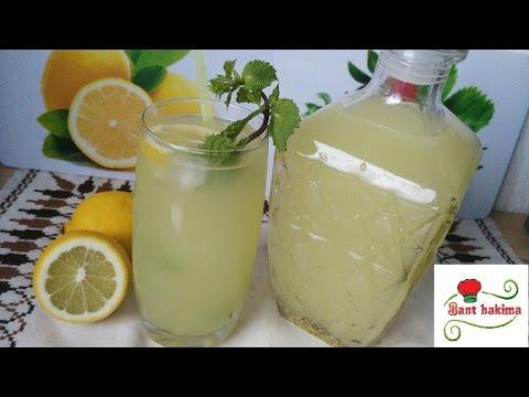 أفضل طريقة لتحضير الليمونادة المنعشة \ عصير الحامض thumbnail