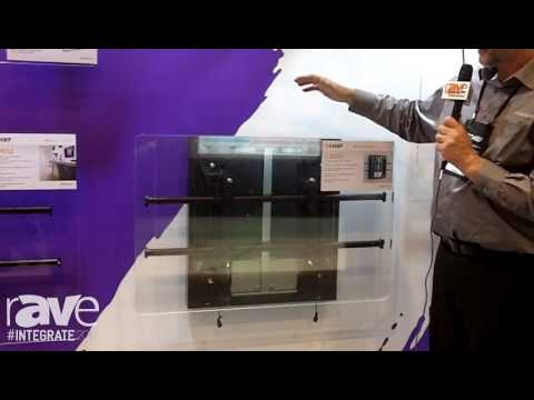 Integrate 2016: Milestone Chief Exhibits the LSD1U Fusion Dynamic Wall Mount on the Midwich AV Stand
