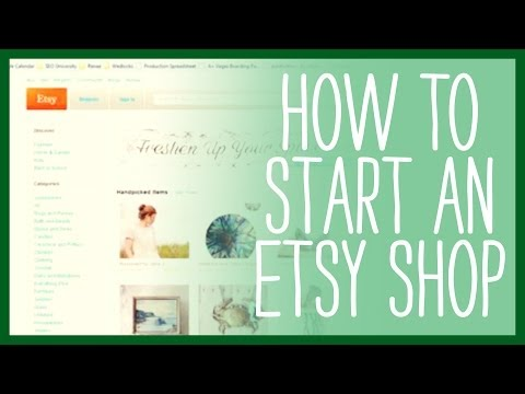 How to Sell on Etsy - How to Start an Etsy Shop