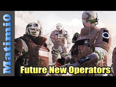 Future New Operators - Rainbow Six Siege