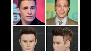 Colton Haynes Haircut & Hairstyle Tutorial