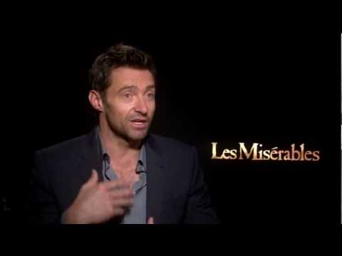 Hugh Jackman's Official Les Miserables Interview - Celebs.com