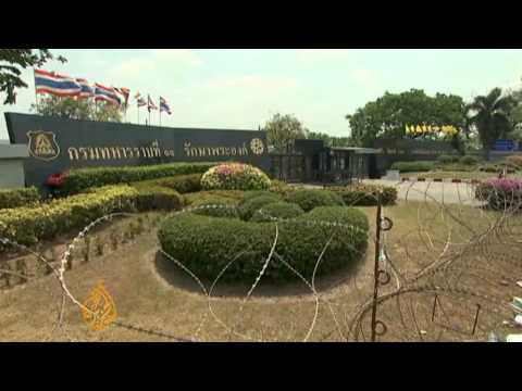 Thailand caught in protest standoff