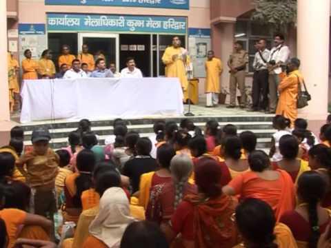 Ganga Safai Abhiyan on World Environment Day by Gayatri Pariwar (June 5th, 2012)