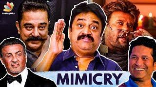 Chinni Jayanth Humorously Mimics Actors | Rajini, Kamal, Sachin | Live Performance, Interview