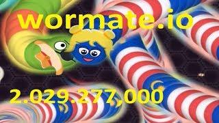 Wormate.io #112 2.029.277,0000   Trò chơi rắn săn mồi   Game rắn săn mồi