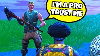 9 YEAR OLD TELLS ME HE'S A PRO FORTNITE PLAYER