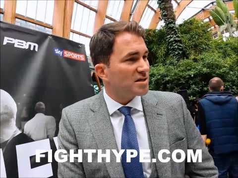 EDDIE HEARN SAYS CHAVEZ JR NEGOTIATIONS ARE FRUSTRATINGLY SLOW FROCH TO RETURN IN JANFEB 2015