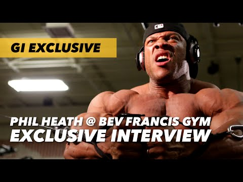 Phil Heath Seminar at Bev Francis Gym: Exclusive Interview | Generation Iron