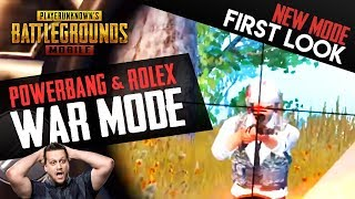 NEW GAME MODE in PUBG Mobile - First Look - AWESOME GAMES!