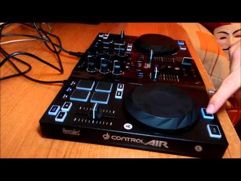 Prueba Hercules DJ Control AIR (Blasterjaxx, Showtek, Stadiumx, W&W)