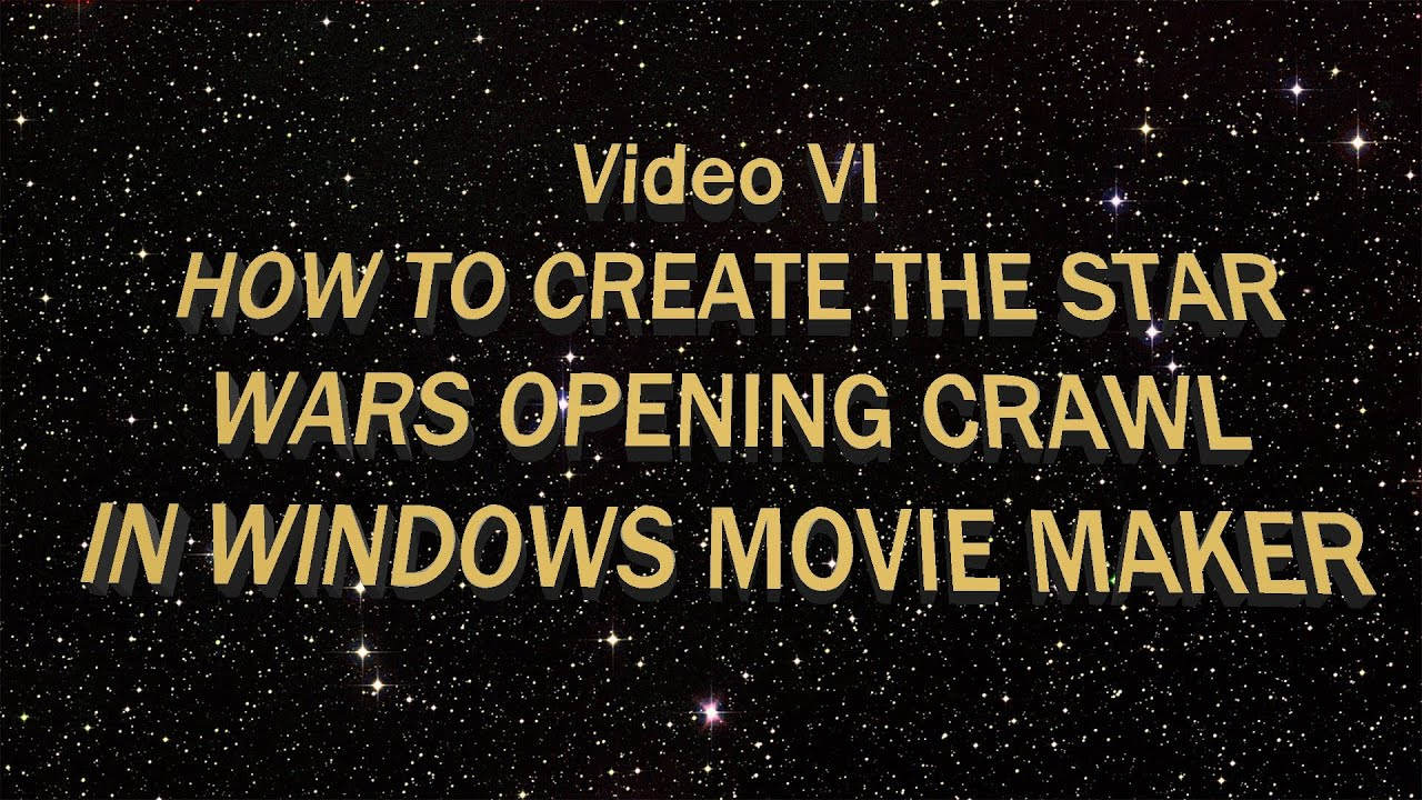 how to create a movie introduction
