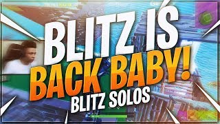 TSM Myth - BLITZ IS BACK BABY!! INTENSE 10 KILL SOLO  (Fortnite BR Full Match)