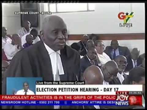 2012 Election Petition Hearing  Day 17 (15-5-13)