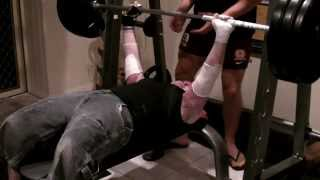 Dean Clifford's 150KGS Bench Press.