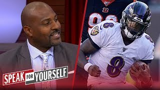 Lamar Jackson's 'signature moments' give him edge for MVP — Marcellus | NFL | SPEAK FOR YOURSELF
