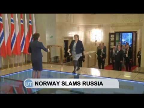 Norway Slams Russia: Norway and Poland discuss Russia's involvement in Ukraine crisis