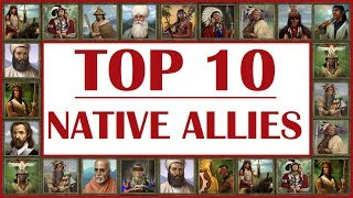 TOP 10 Native Alliances in Age of Empires III
