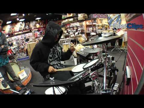 Tony Royster Jr. Plays at Las Vegas Guitar Center