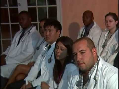 IAU College of Medicine, St. Lucia. White Coat Ceremony May 2013. Part 2