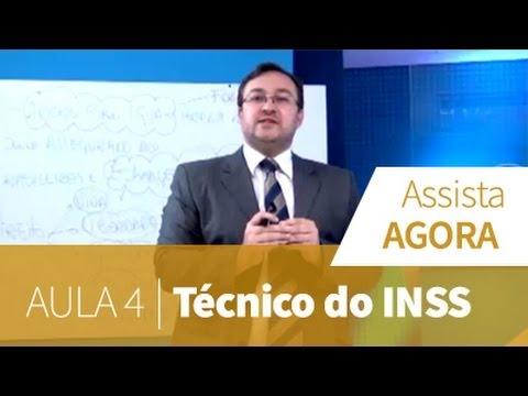 Técnico Do Inss - Aula Grátis 4 video