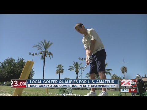 Local golfer Rich Gilkey hoping to win U.S. Amateur